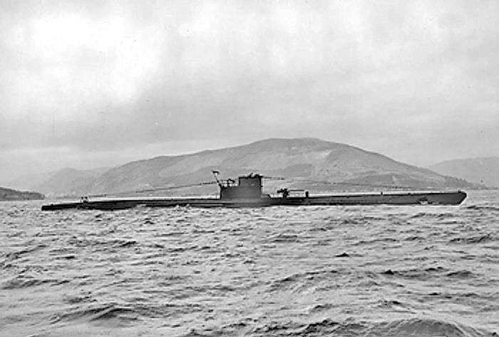 U570 in the Clyde