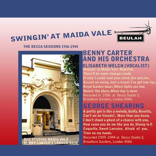 swingin at madia vale benny carter and george shearing decca sessions 1936 to 1944