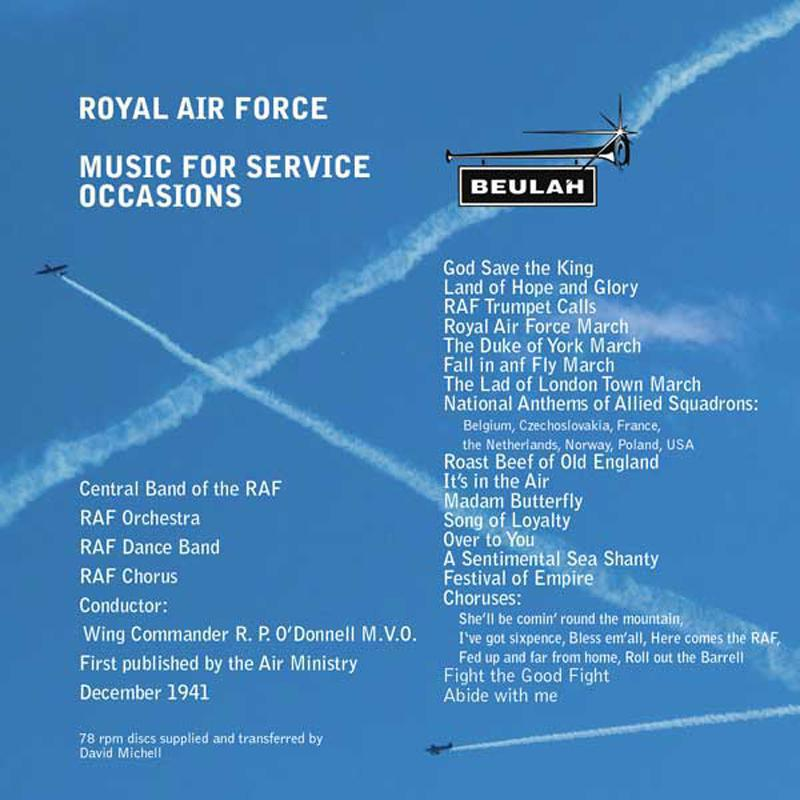 1PD41 Royal Air Force Music for Service Occassions