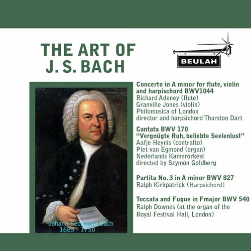 the art of J S Bach