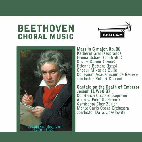 beethoven choral music