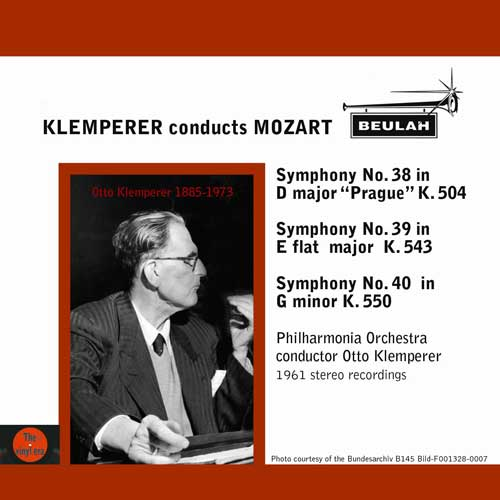 Klemperer conducts mozart