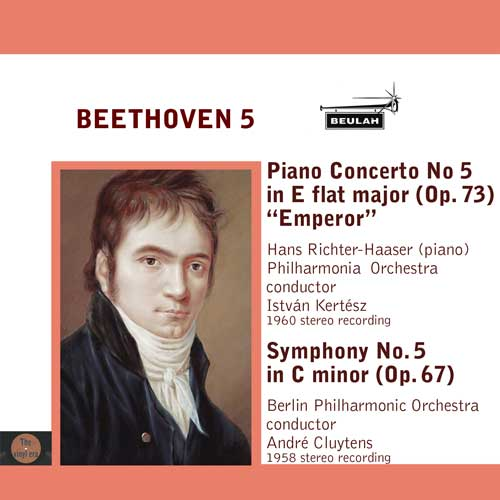 Beethoven symphony number five piano concerto number five