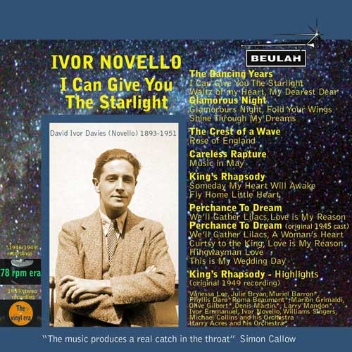 Ivor Novello - I can give you the starlight