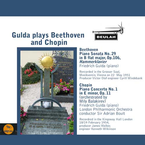 Gulda plays Beethoven and Chopin