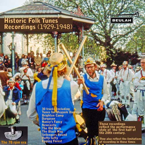 Historic Folk Tunes Recordings 1929  to 1952
