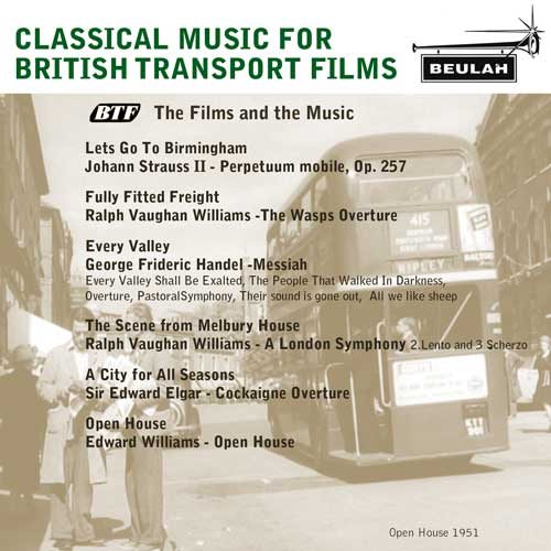 Classic music for british transport films