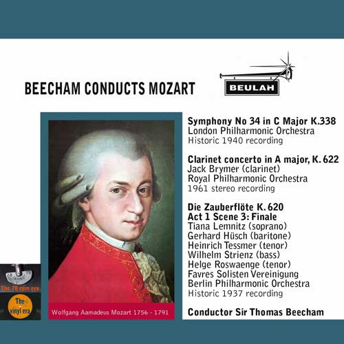 Beecham Conducts Mozart