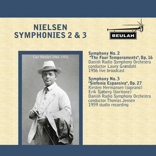 1ps14 nielsen symphonies 2 and 3