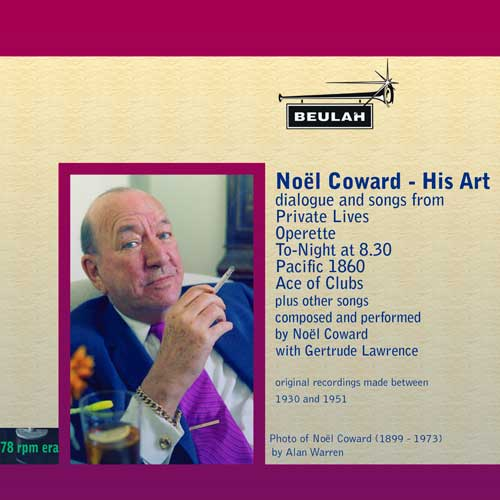 1ps18 Noël Coward - His Art