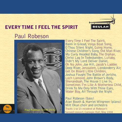 1ps23 Paul Robeson - Everey Time I Feel The Spirit