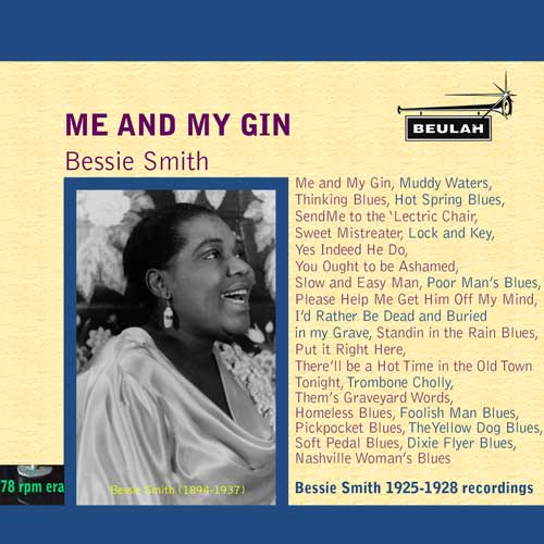 1PS24 Me and my gin Bessie Smith
