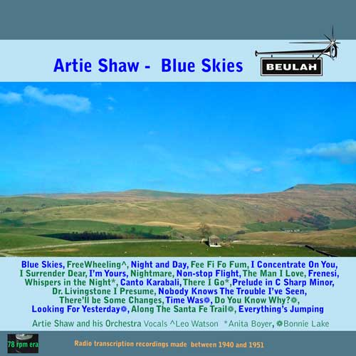 1PS27 Aartie Shaw Blue Skies
