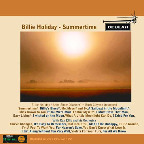 1PS28 Billie Holiday Summertime
