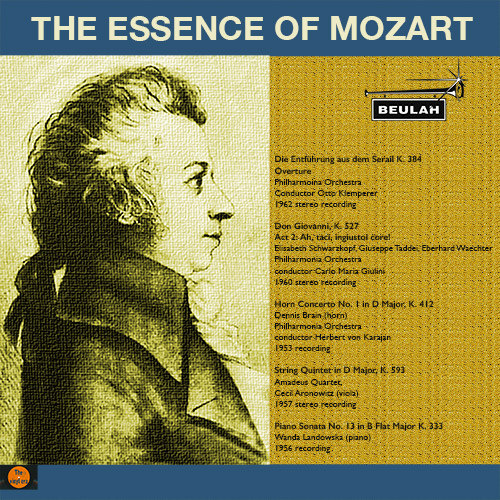 1PS38 The essence of mozart