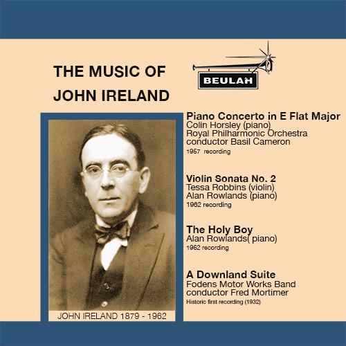 1PS40 The music of John Ireland