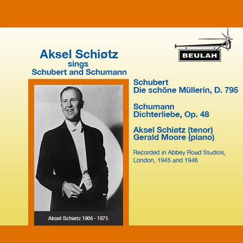 1PS46 Aksel Schiøtz sings Schubert and Schumann