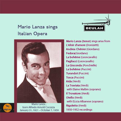 1PS53 Mario Lanza sings Italian Opera