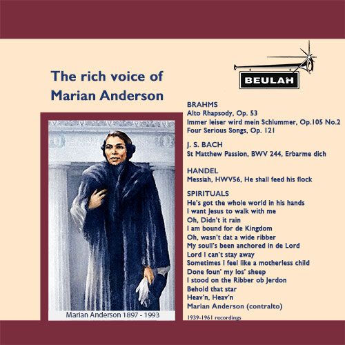 1PS54 The rich voice of marian anderson