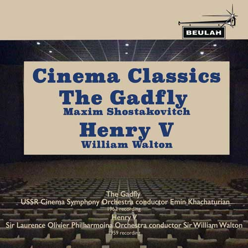 1PS56 cinema classics the gadfly henry  the fifth