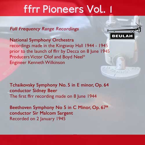 1PS59 ffrr pioneers volume 1 tchaikovsky and beethoven symphonies number 5