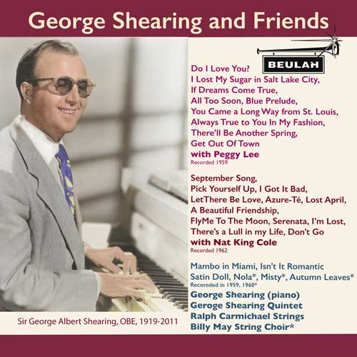 1PS61 George Shearing and Friends PEGGY LEE NAT KING COLE