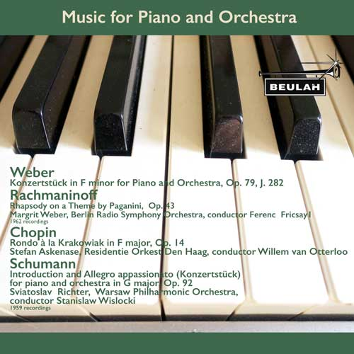 1PS62 Music for Piano and Orchestra by Chopin, Schumann, Rachmaninoff