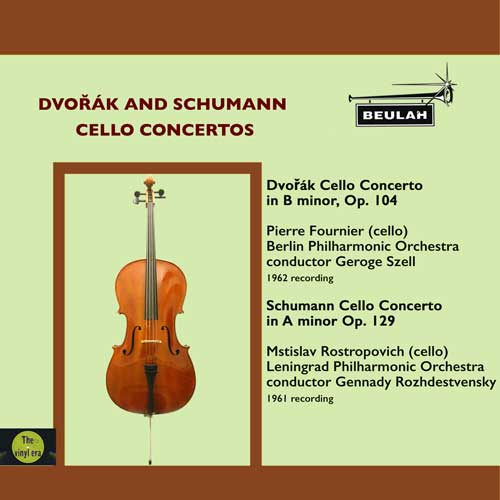 1PS66 Dvorak and Schumann cello concertos