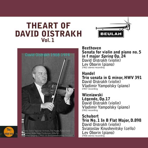 1ps6 the art of david oistrakh volume 1
