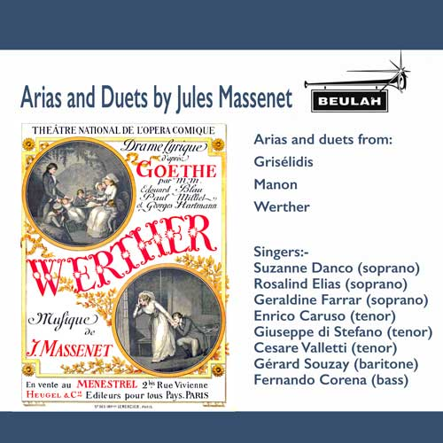 1ps73 Arians and duets by Jules Massenet