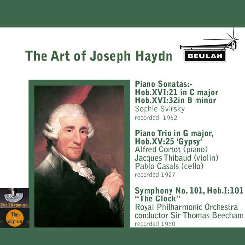 1ps7 the art of joseph haydn