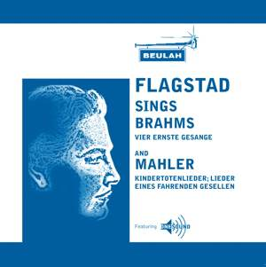 kirsten flagstad sings brahms and mahler
