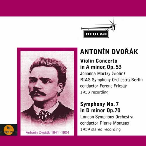 Dvorak violin concerto symphony number 7