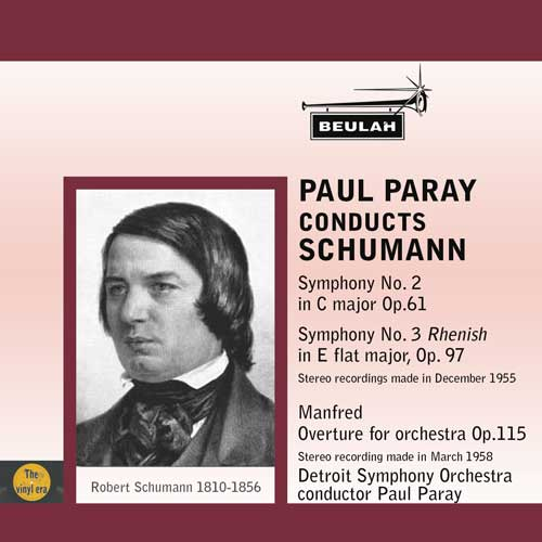 2pd68 paul Parayconducts Schumann symponies 2 and 3