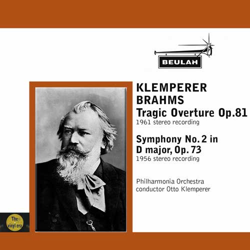 Klemperer conducts Brahms