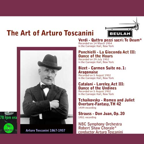 2pdr26 the art of toscanini