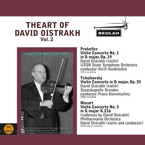 2ps6 the art of david oistrakh volume 2