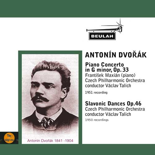 dvorak piano concerto and slavonic dances