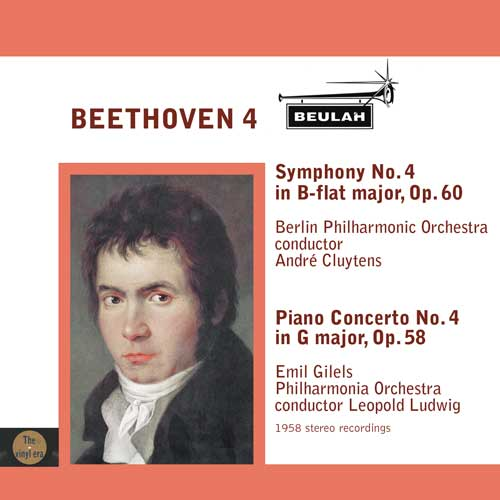 Beethoven piano concerto number 4 symphony number 4