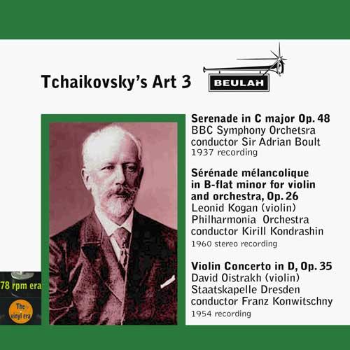 Tckaikovsky's Art 3