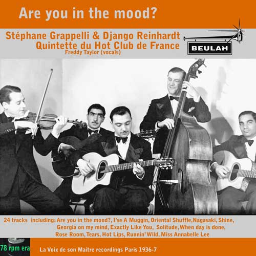 3PS22 Are You In The Mood. Stéphane Grappelli & Django Reinhardt            Quintette du Hot Club de France