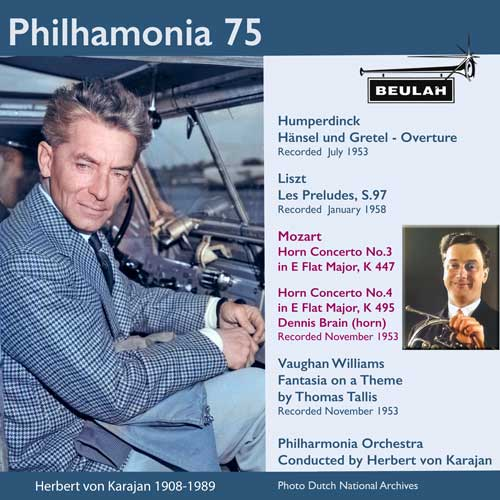 4PS58 Philharmonia 75 sir william walton viola concerto belshazzars feast partita for orchestra