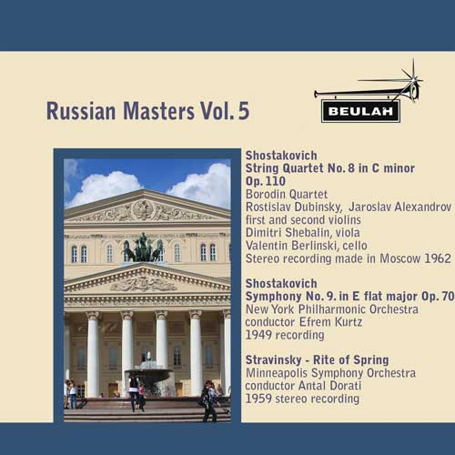 Russian Masters  volume 5