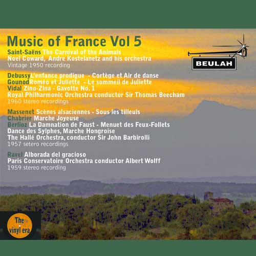 music of france vol 5