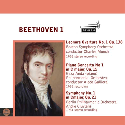 Beethoven symphony number 1 and piano concerto number 1 leonore overture number 1