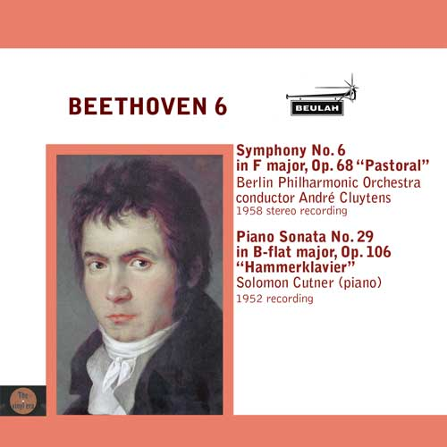 Beethoven symphony number 6 and piano sonata no 29