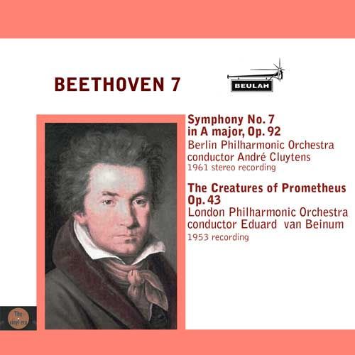 Beethoven symphony number 7 and the cretures of prometheius