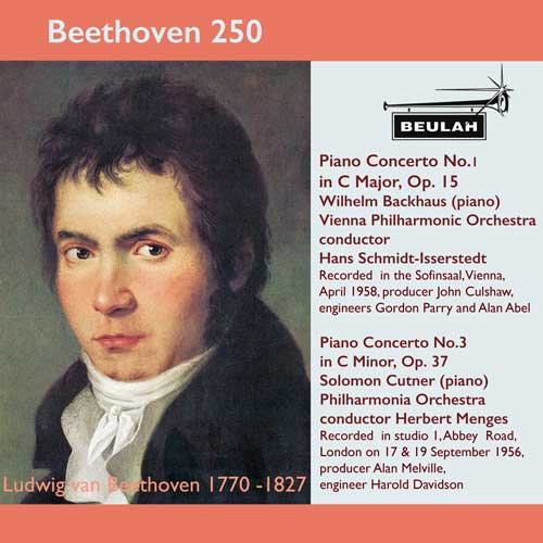 7PS57 beethoven 250 piano concertos 1 and 3