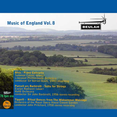 music of england vol 8