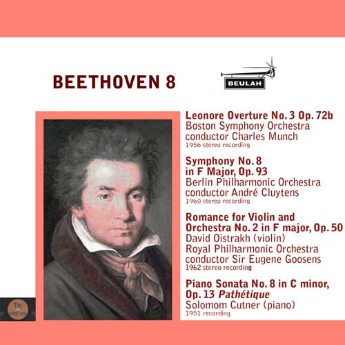 Beethoven   leonore overture number 3 symphony number 8 and piano sonat number 8
